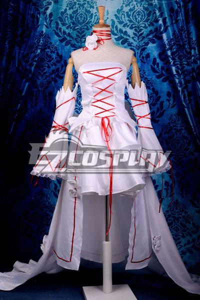 Pandora Hearts White Rabbit Alice Deluxe Cosplay Costume