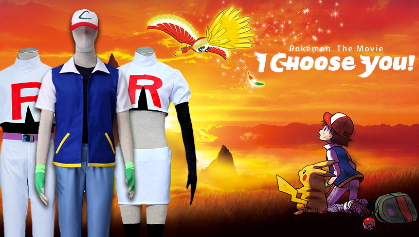 Pokemon Cosplay Costumes on Sale
