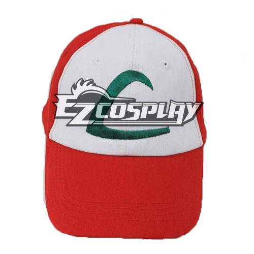 Pokemon Ash Ketchum Cosplay Hat 1