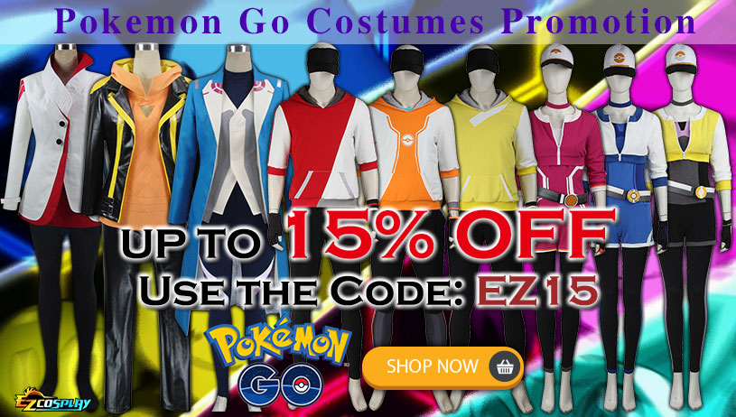Pokemon go Cosplay Costume On Sale