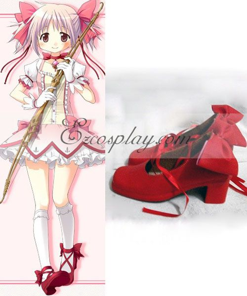 Puella Magi Madoka Magica Kaname Madoka Cosplay Shoes None