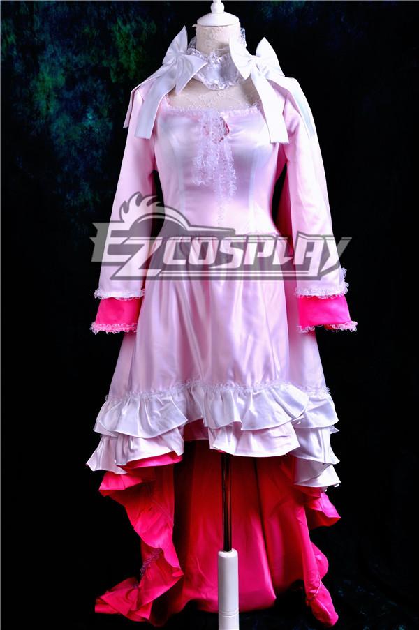 Puella Magi Madoka Magica Kaname Madoka Lolita Cosplay Anime  Costume-Y368 None
