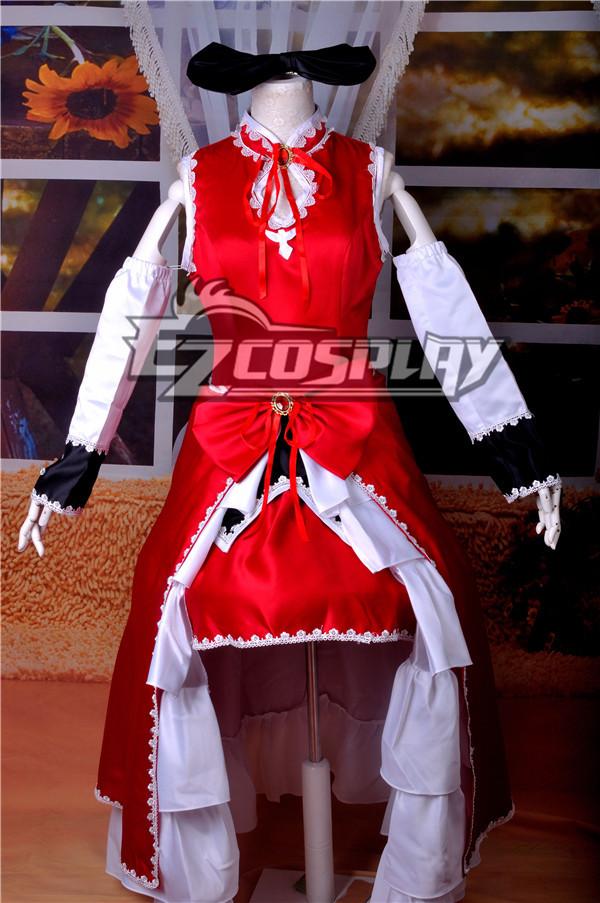 Puella Magi Madoka Magica Kyoko Sakura Cosplay Anime  Costume-Y342 None