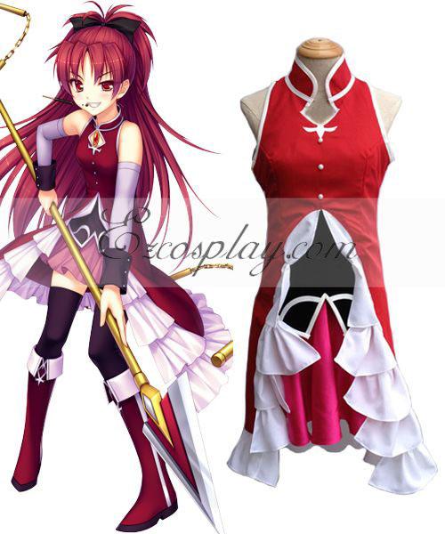 Puella Magi Madoka Magica Sakura Kyoko Cosplay Costume None