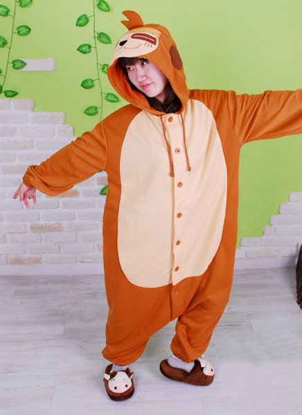 Sloth Mimi Monkey Kigurumi Costume Pajamas