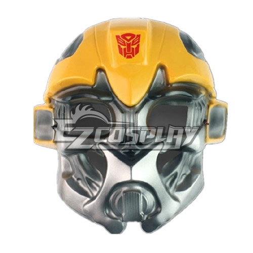 Transformers Bumblebee Cosplay Mask None