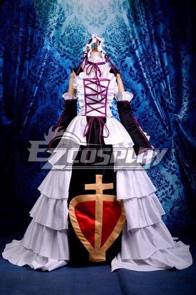 RESERVoir CHRoNiCLE Sakura Queen of Spades Dress Cosplay Costume