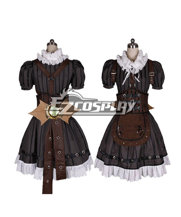 Steampunk Dresses | Women & Girl Costumes Alice Madness Returns Steampunk Alice Cosplay Costume - Black $296.99 AT vintagedancer.com