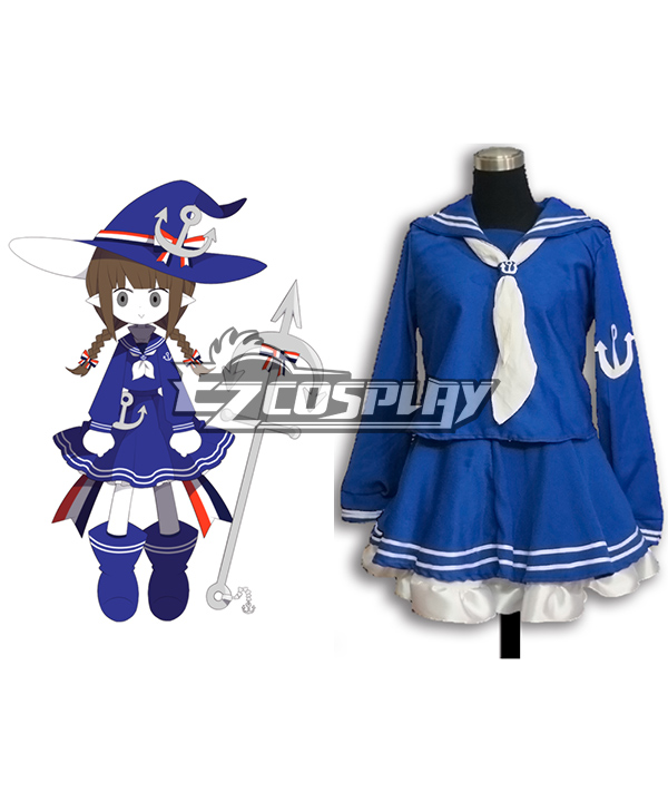 Wadanohara and The Great Blue Sea Wadanohara Cosplay Costume - B Edition