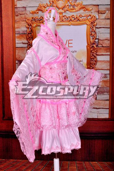 Ruler Vocaloid Miku Princess Cosplay Costume