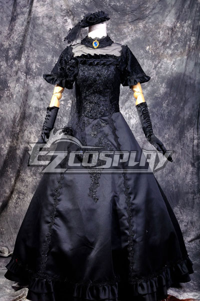 Ruler Vocaloid Miku Secret Lolita Cosplay Costume