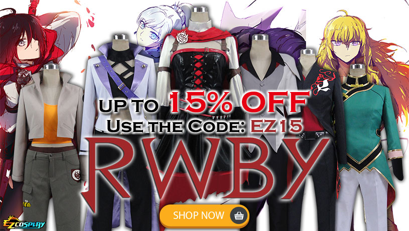 RWBY Cosplay Costume On Sale