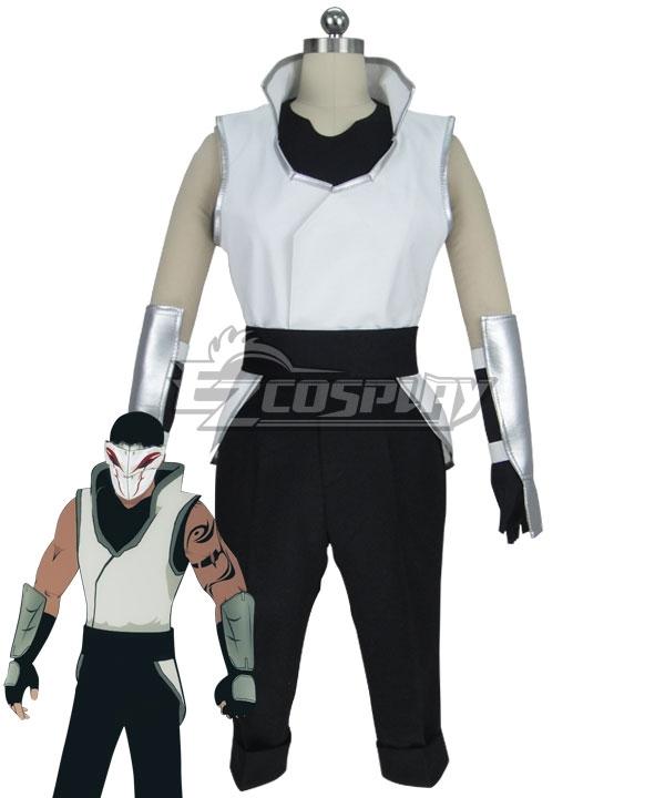 RWBY Volume 2 White Fang Lieutenant Cosplay Costume None