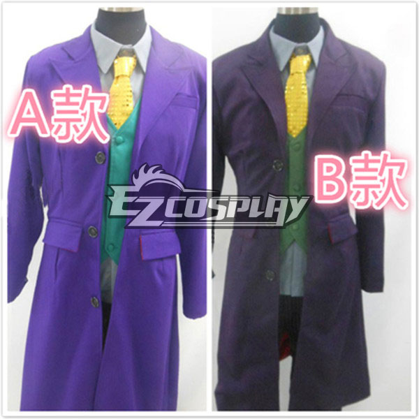 Full Face Batman Joker Cosplay Carnival Costume Masquerade costumes None