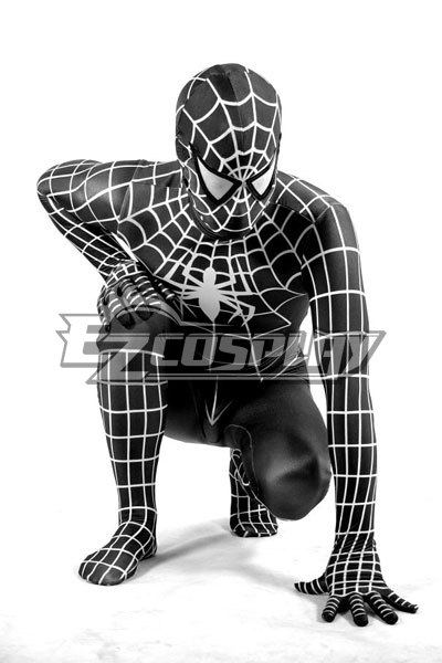 Marvel Spiderman Black Cosplay Costume None