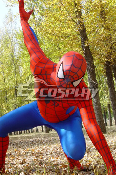 Marvel Spiderman Classic Suit Cosplay Costume EZT0002