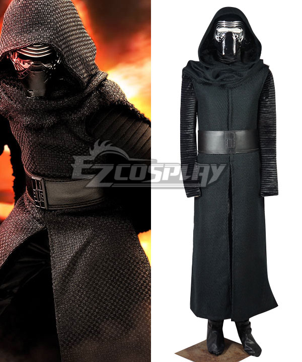 Star Wars VII: The Force Awakens Kylo Ren Cosplay Costume None