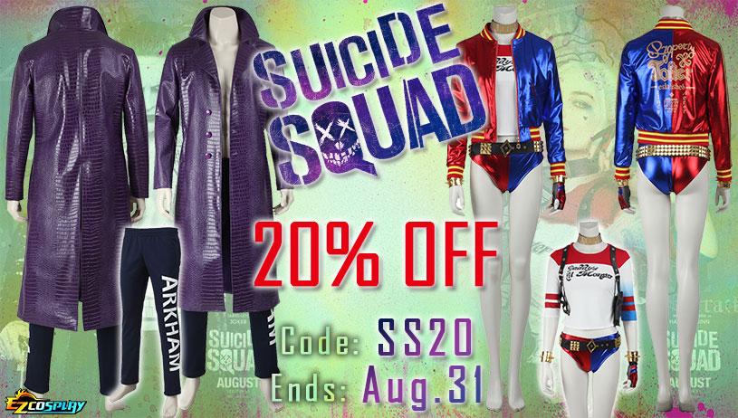 Suicide Squad Costumes On Sale