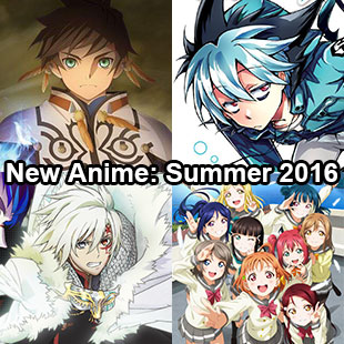 New anime Summer 2016