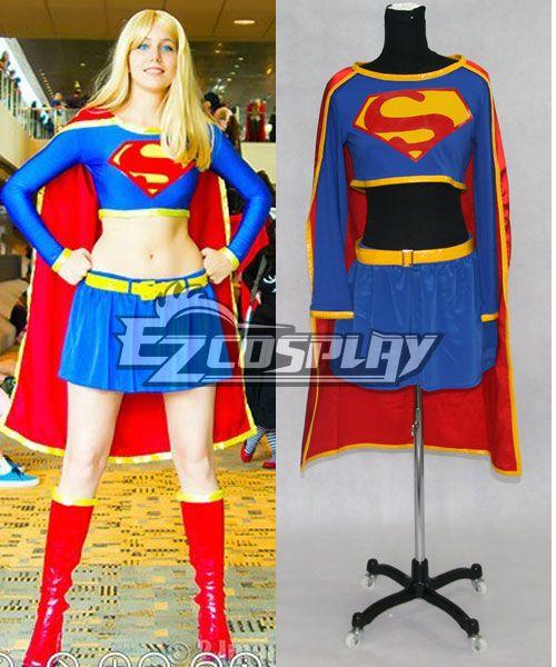 Super Girl Cosplay Costume