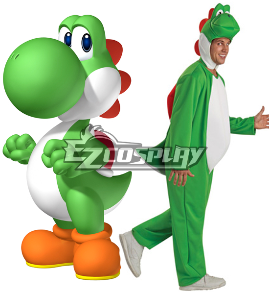 Super Mario Bros Yoshi Adult Cosplay Costume
