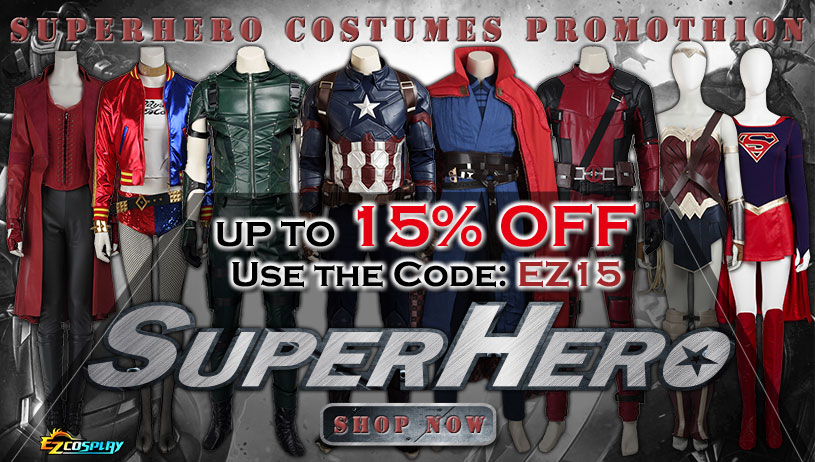 Superhero Costumes on Sale