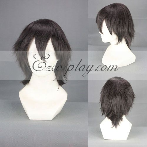 Sword Art Online Kirito Black Cosplay Wig-314C None