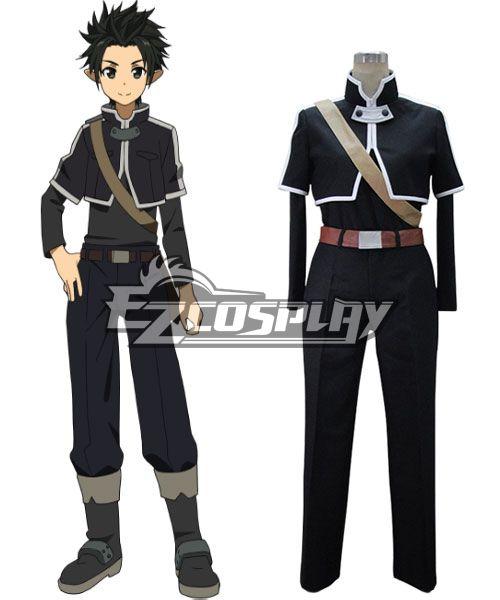 Sword Art Online ALfheim Online Kirito Cosplay Costume None