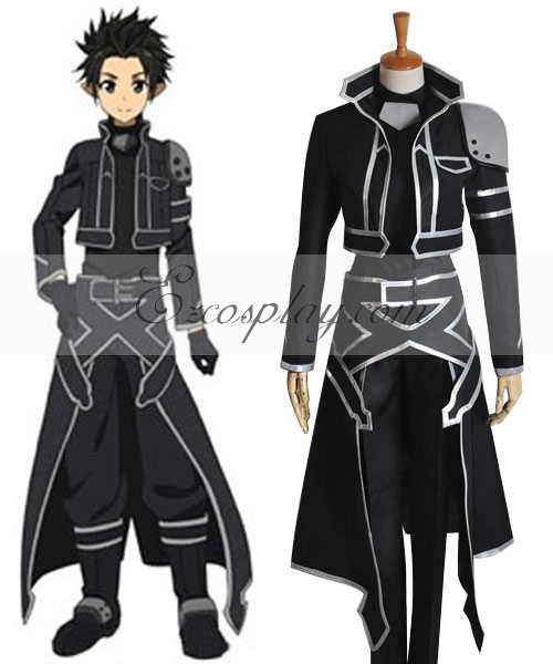 Sword Art Online (ALfheim Online) Kirito New Cosplay Costume None