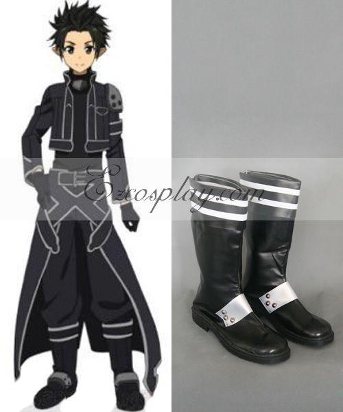 Sword Art Online ALfheim Online Kirito New Cosplay Boots None
