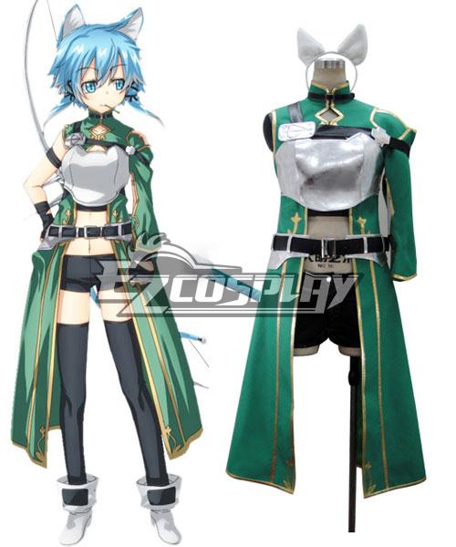 Sword Art Online II SAO ALfheim Online ALO Asada Shino Sinon Shinon Hecate Nine Races Cait Sith Kettoshi Cosplay Costume