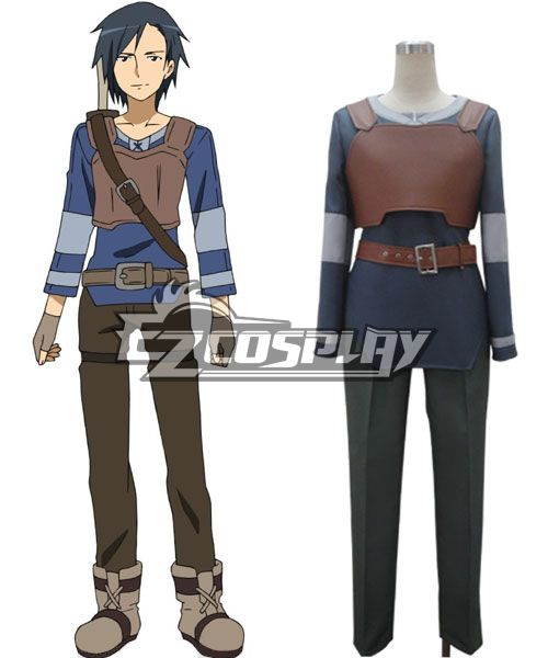 Sword Art Online Kirito Basic Cosplay Costume None