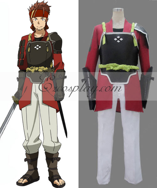 Sword Art Online SAO Klein Ryoutarou Tsuboi Cosplay Costume
