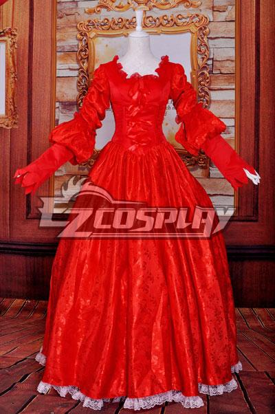 Snow White Queen/Wedding Dress/Lolita Cosplay Costume
