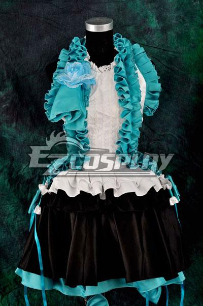 Vocalogenesis Blue Gorgeous Dress Lolita Cosplay Costume