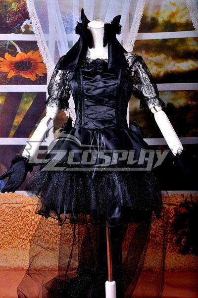 Black Dress Lolita Cosplay Costume