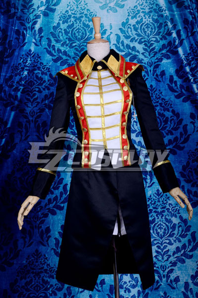 Anime Costumes ZBC0105 VOCALOID2 LUKA Army Uniform Lolita Cosplay