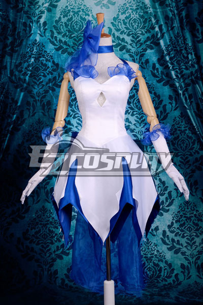 Fate Stay Night Fate Grand Order Saber Lily Altria Pendragon King Arthur TYPE-MOON Decennial Lolita Cosplay Costume