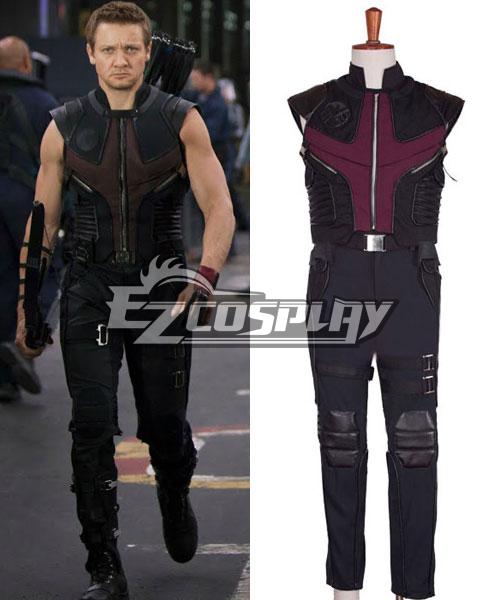 Image of The Avengers Clint Barton Hawkeye Cosplay Costume