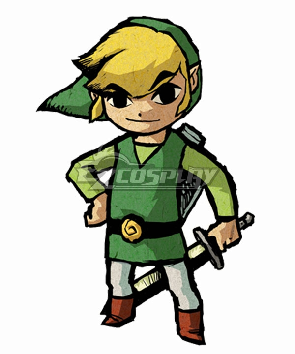 The Legend of Zelda: The Wind Waker HD Link Cosplay Costume None