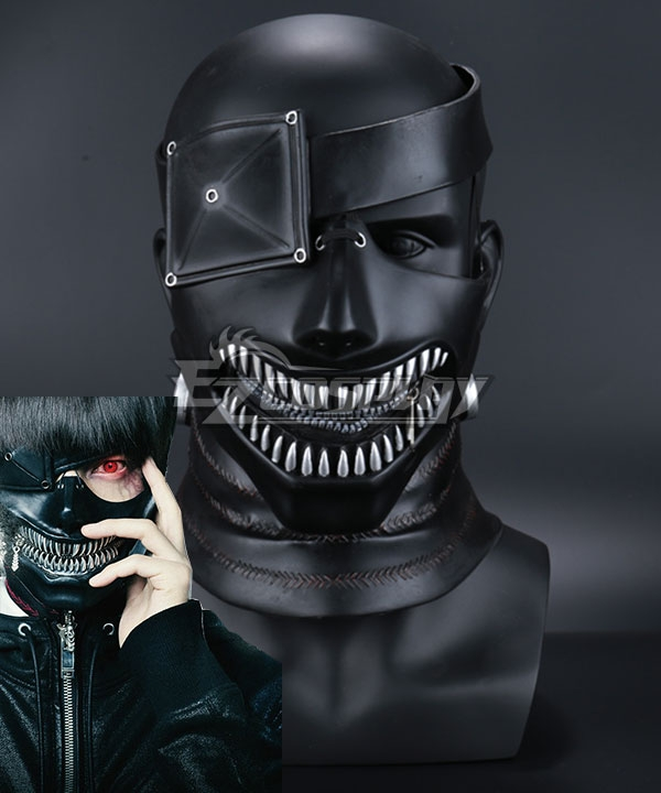 Tokyo Ghoul 2017 Movie Kaneki Ken Mask Cosplay Accessory Prop None