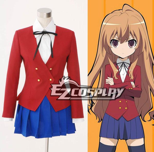 Toradora Taiga Aisaka School Uniform Cosplay Costume