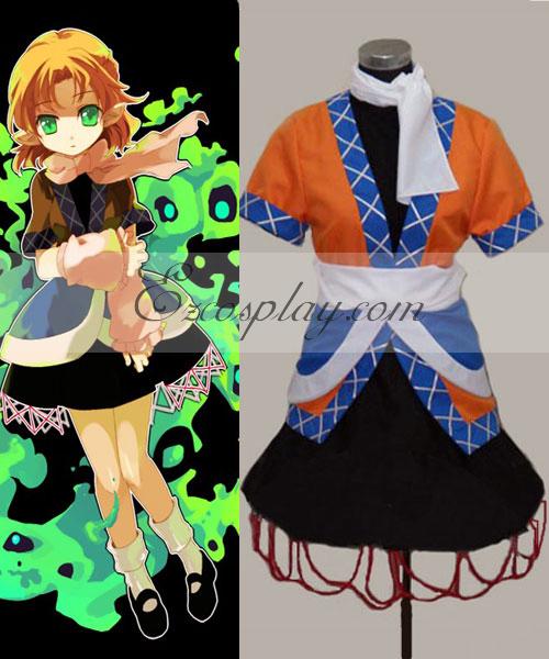 Touhou Project Mizuhashi Parse cosplay costume