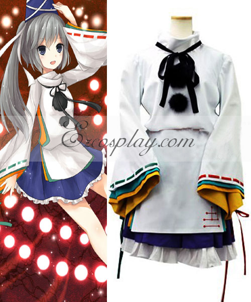 Touhou Project Mononobe no Futo Cosplay Costume