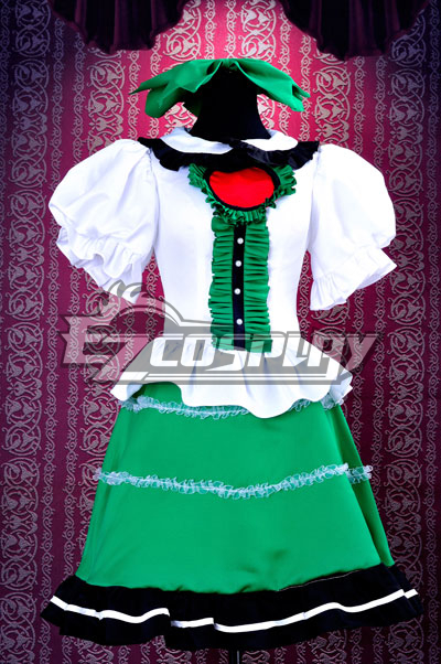 Touhou Project Subterranean Animism Reiuji Utsuho Cosplay Costume