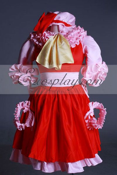 Touhou Project Remilia Scarlet Cosplay Costume-Advanced Custom