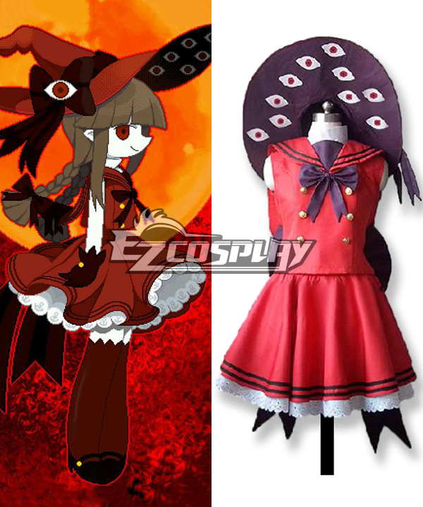 Wadanohara and The Great Blue Sea Akoumi no majo-Wadanohara Cosplay Costume