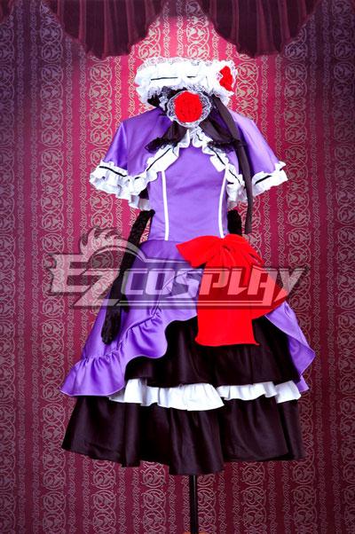Umineko no Naku Koro ni Eva Beatrice Lolita Cosplay Costume