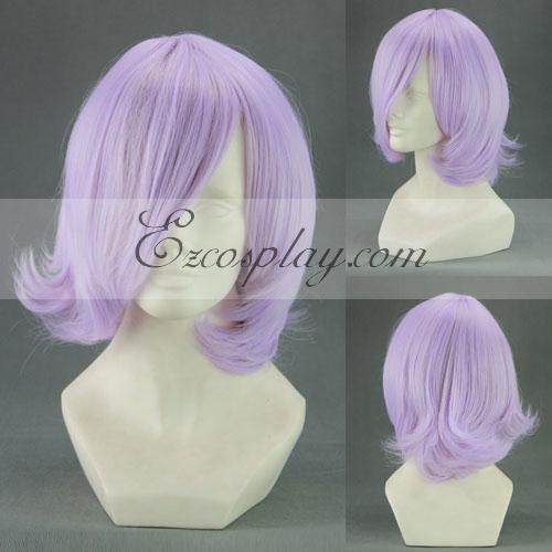 UN-GO Inga Panda Light Purple Cosplay Wig