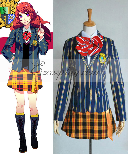 Uta no Prince-sama Saotome Female School Uniform Cosplay Costume
